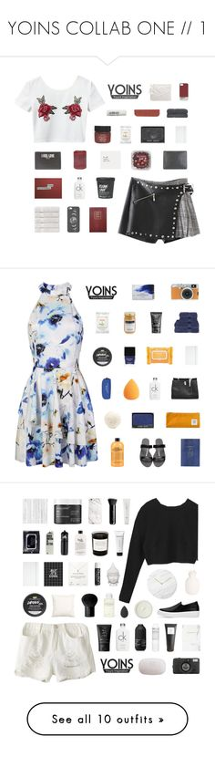 """YOINS COLLAB ONE // 1"" by gintare-13 ❤ liked on Polyvore featuring yoins, yoinscollection, loveyoins, Christy, Casetify, FRUIT, Sloane Stationery, Calvin Klein, Burt's Bees and ASOS"