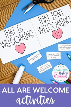 All Are Welcome is the perfect read aloud for back to school. It is a great introduction to social-emotional learning about kindness, inclusion, and diversity. During the beginning of the school year, it's so important to set up a strong classroom community and start building relationships. This helps with behavior management and student learning. This book does a beautiful job celebrating diversity and helping students feel safe in our classrooms. Grab this All Are Welcome book activity!