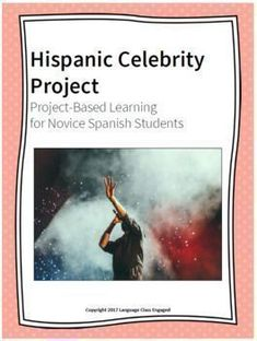 This Project-Based Learning unit uses the study of a Hispanic celebrity to give students an opportunity to communicate basic facts and information about another person. The project challenges students to use their Spanish communication skills to raise awareness for #spanishfacts