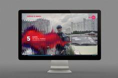 RU TV Rebranding on Behance