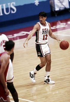 "John Stockton USA Basketball Team ""Dream Team"""
