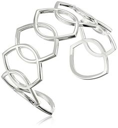 Zina Sterling Silver Wired Marquis Cuff Bracelet -- You can find more details by visiting the image link.
