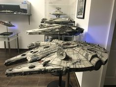 This is a Tribute to all the Artists that work on SOLO A STAR WARS STORY. Masa Narita that built this unique Falcon for SOLO.