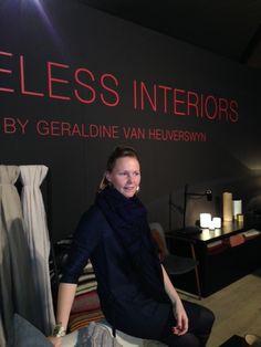 Prachtige stand in Kortrijk, Géraldine heeft fantastisch gevoel voor natuurlijke structuur!!