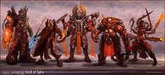 Lord of Light characters by jubjubjedi on deviantART