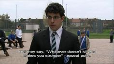 Exam Period As Told By The Inbetweeners British Comedy, English Comedy, British Humour, Funny Memes, Hilarious, Tumblr Funny, Inbetweeners Quotes, Bbc Channel, Fools And Horses