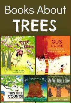 Books About Trees...kindergarten tree unit.