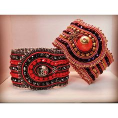 h.a.s.c.e Soutache Bracelet, Soutache Jewelry, Bangle Bracelets, Bangles, Ribbon Art, Shibori, Beaded Embroidery, Instagram, Ideas