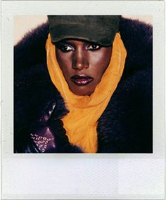 Grace jones | Andy Warhol Polaroid.