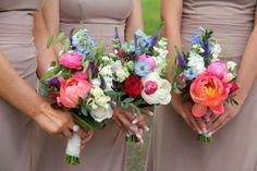 Veronica, Delphiniums, Ranunculas, Stocks, Peonies, Sweet Peas, Snowflake Roses and David Austin's Darcey Roses, Thalaspi and Dancing Grasses