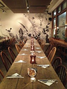 We do Private hire including Seated dinners for big groups