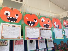 Mr. Pumpkin writing and craft