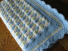 Crocheted by Subliminalirony #CbyDH Ravelry: Baby Blanket Shells of Love crochet pattern by Darleen Hopkins