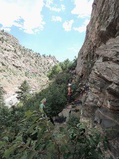 LoDo Denver – AUSFLIEGEN *** Klettern, baden, Prana und Buffalo Bill: Meine Ausflug-Tipps: Clear Creek Canyon: Little Eiger Buffalo Bills, Sea To Shining Sea, Denver, Grand Canyon, America, Places, Nature, Travel, Beautiful