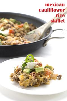 One pan wonders! This easy keto Mexican Cauliflower Rice is a skillet meal the whole family will love. They won't even notice it's low carb and grain-free. Primal and THM-friendly. Mothers of children with Type 1 Diabetes are the hardest working women in show business. Seriously, I mean that. I do not have a child with Type 1 Diabetes but I am fortunate to be privy to an amazing group of women who do. And I am continually humbled by the work they have to put in just keeping their chil...