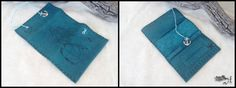 Blue Mermaid Leather Tobacco Pouch by TobaccoPouch on Etsy