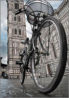Vélo love in Firenze.