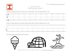 Tracing letter worksheets in landscape layout. We have one worksheet for each letter of the alphabet and they contain pictures to go with each letter. Each worksheet has uppercase and lowercase letters to trace. Letter Tracing Worksheets, Kids Math Worksheets, Handwriting Worksheets, Abc Tracing, Tracing Letters, Uppercase And Lowercase Letters, Teaching Kids To Write, Preschool Learning, Printing Practice