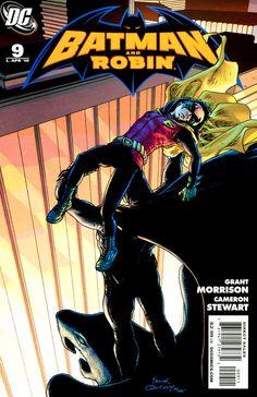 Batman and Robin DC Comics Book cover art super heroes villians Batman Superman Comic, Batman Art, Batman Comics, Batman And Superman, Batman Robin, Dc Comics, Book Cover Art, Comic Book Covers, Comic Books