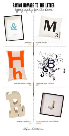 Typography for the home