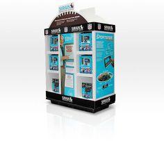 Point of Purchase Portfolio | SIRIUS Satellite Radio | JDA, Inc. Retail Ready Design