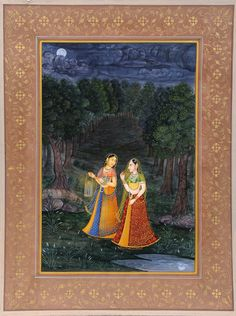 The Maid Leads the Heroine to Her Lover