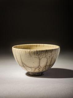 Chawan raku fired stoneware
