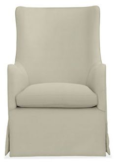 Ellery Swivel Glider Chair & Ottoman - Recliners & Lounge Chairs - Living - Room & Board $999