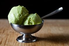 Avocado Gelado - I'd probably serve this with a little sprinkle of sea salt.
