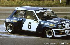 Rallye Škoda 1981Attila Ferjáncz - János TandariRenault 5 Turbo