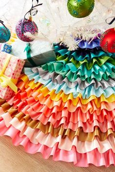 Shop Ribbon Tree Skirt at Horchow, where you'll find new lower shipping on hundreds of home furnishings and gifts. Christmas Holidays, Christmas Crafts, Happy Holidays, Christmas Ideas, Merry Christmas, Christmas Feeling, Crochet Christmas, Christmas Pictures, Christmas Angels