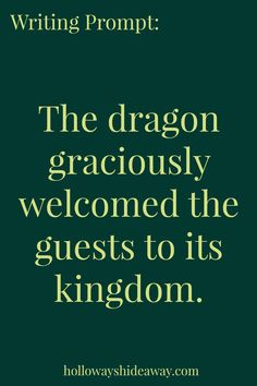Fantasy Writing dragon graciously welcomed the guest to its kingdom. Writing Prompts 2nd Grade, Kindergarten Writing Prompts, Writing Prompts Romance, Writing Prompts Funny, Writing Prompts For Writers, Picture Writing Prompts, Dialogue Prompts, Writing Help, Writing Tips