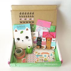 Have you heard about the Wink Kit? It's a subscription box for planner junkies that you have to check out if you're a planner! Get your invitation at Ink & Wink.