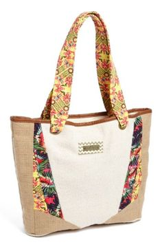 Free shipping and returns on Maaji Beach Bag at Nordstrom.com. Spacious enough for your towel, suit and paperback, a pattern-mixing beach tote traced by contrast piping pumps up the print with a bold lining and straps.