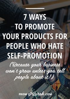 One of the biggest issuesI see online, is that people still aren't sure if they should betweeting/pinning/promoting theirown stuff and they don't know how often to do it. Well, here's the deal. If you, A) want to build a business and B) want to make money from that business, you're gonna need to learn self-promotion ASAP.
