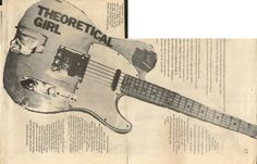 Glenn Branca's Telecaster he used with Theoretical Girls from some point between 79 and 81.