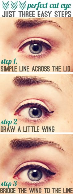 Make up tutorial: How to make the perfect cat eye!