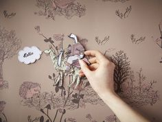 Magnetic wallpaper? What? Oh yes, it was only a matter time after magnetic paint was all the rage. Here's the skinny on magnetized papers…
