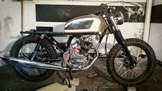 Pintura deposito y guardabarros   Honda CG 125   Three Stones cycles