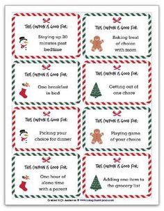 free christmas coupons