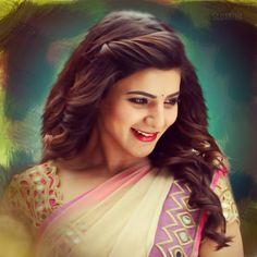 Beautiful Bollywood Actress, Beautiful Indian Actress, Beautiful Actresses, Samantha In Saree, Samantha Ruth, Samantha Images, Beauty Full Girl, Indian Beauty Saree, South Indian Actress