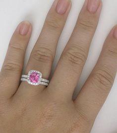 1337f9674828f 35 Best Pink Diamond Alternative - Light Pink Sapphire Rings ...