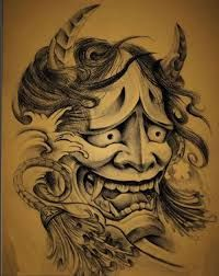 般若 - Google Search Hannya Mask Tattoo, Hanya Tattoo, Demon Tattoo, Oni Mask, Japanese Tattoo Art, Japanese Tattoo Designs, Picture Tattoos, Cool Tattoos, Awesome Tattoos