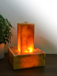 Lichtbrunnen Onyx Marmor Sunshine
