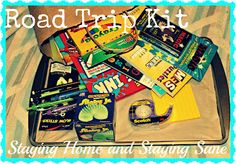 Kid's Road Trip Kits