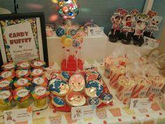 Lalaloopsy dessert buffet by Yummy Mommy Cupcake