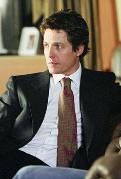 Hugh Grant as the fabulously rich, charming and irresponsible George Wade. <3 http://www.wbshop.com/product/two+weeks+notice+%28bd%29+blu-ray+1000435962.do #TwoWeeksNotice #HughGrant #romcom #movies