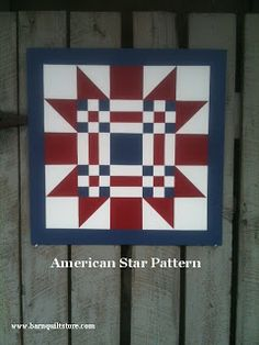 I'm proud to say there is another Barn Quilt in the Adairsville, GA area! The Canine Cottage is showing off one of my favorite pattern. Quilt Square Patterns, Barn Quilt Patterns, Square Quilt, Barn Quilt Designs, Quilting Designs, Pallette, Painted Barn Quilts, Barn Signs, Intarsia Woodworking