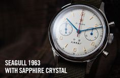 Watch | Seagull 1963 | Chinese Air Force - Seagull 1963 Air Force Military Watch