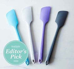 We love the fun colors these @food52 spatulas come in! They'll make for a great addition to your kitchen. #BabbleEditorPicks